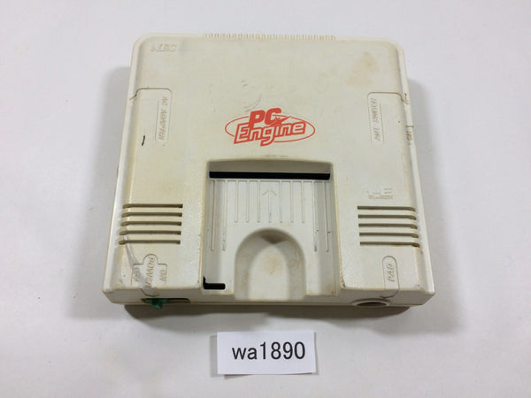wa1890 PC Engine Console TurboGrafx Japan