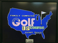 de9237 Golf U.S. Course Famicom Disk Japan