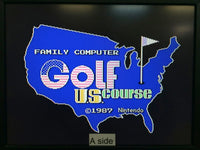 de9239 Golf U.S. Course Famicom Disk Japan