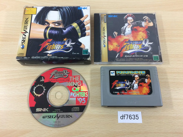 df7635 The King of Fighters 95 Sega Saturn Japan