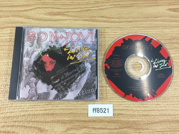 ff8521 Bon Jovi Living In Sin PPDM-1006 Music CD