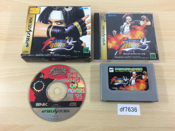 df7636 The King of Fighters 95 Sega Saturn Japan