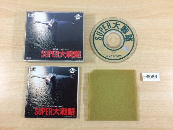 df9086 Super Daisenryaku CD ROM 2 PC Engine Japan