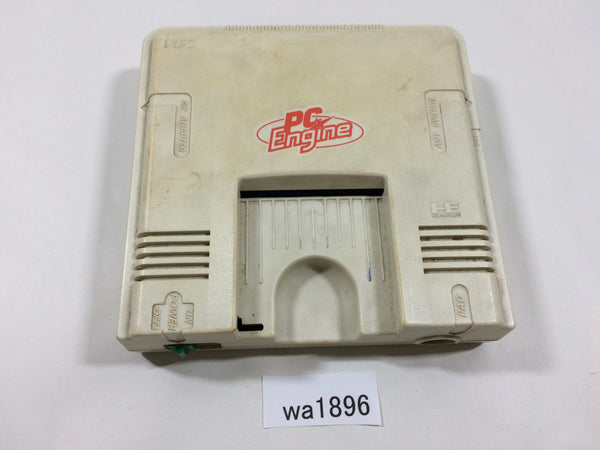 wa1896 PC Engine Console TurboGrafx Japan