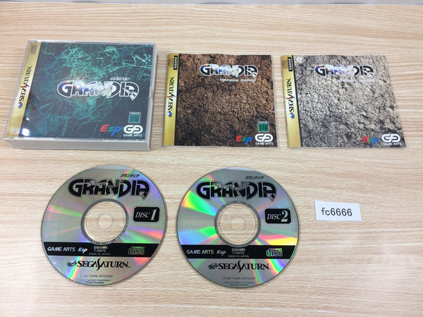fc6666 Grandia Sega Saturn Japan