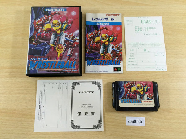 de9635 WrestleBall BOXED Mega Drive Genesis Japan