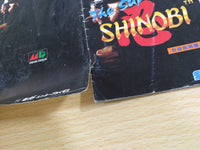 de9636 The Super Shinobi BOXED Mega Drive Genesis Japan
