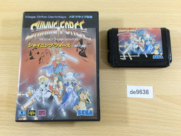 de9638 Shining Force Kamigami no Isan BOXED Mega Drive Genesis Japan