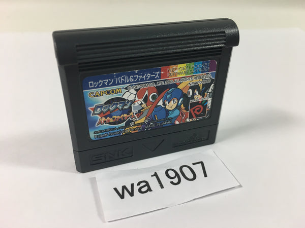 wa1907 Rockman Battle & Fighters Megaman The Power Battle NEO GEO Pocket Japan