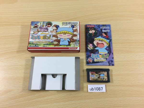 ub1087 Mirmo de Pon! Wagamama Fairy BOXED GameBoy Advance Japan