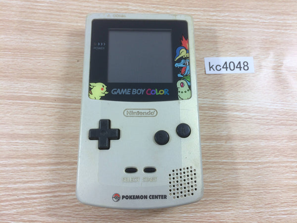 kc4048 Not Working GameBoy Color Pokemon Gold&Silver Limited Console Japan