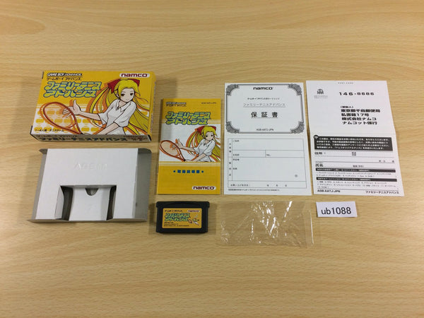 ub1088 Family Tennis Advance BOXED GameBoy Advance Japan