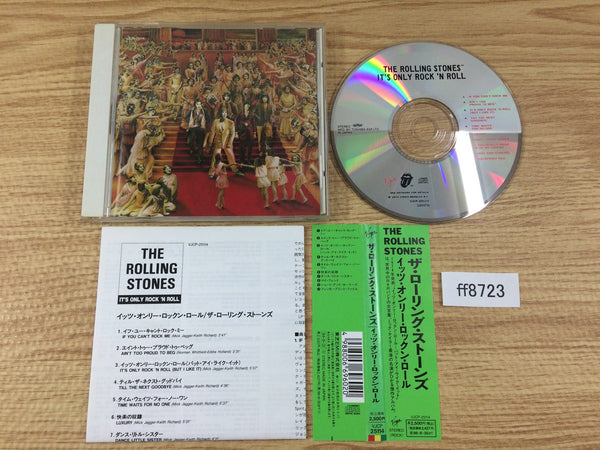 ff8723 The Rolling Stones It's Only Rock And Roll VJCP-25114 Japan OBI Music CD