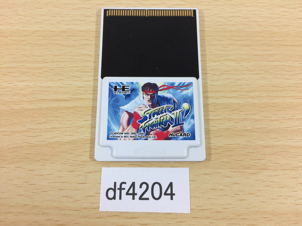 df4204 Street Fighter II Dash PC Engine Japan