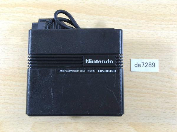 de7289 RAM Adapter for Famicom Disk System Console HVC-023 AV NES Japan