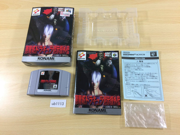 ub1113 Castlevania Legacy of Darkness Legend of Cornell BOXED N64 Japan
