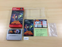 ub2977 Super Metroid BOXED SNES Super Famicom Japan