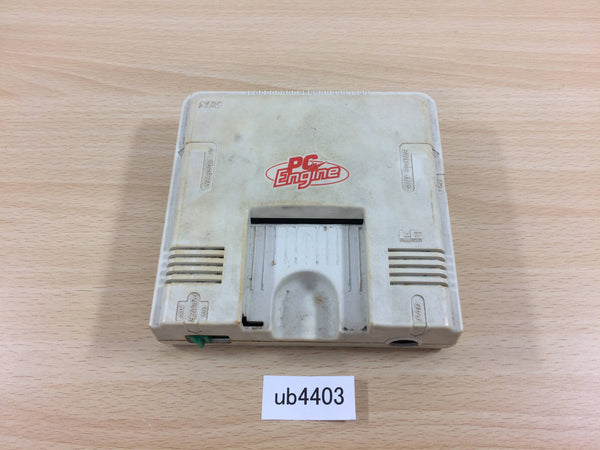 ub4403 PC Engine Console TurboGrafx Japan