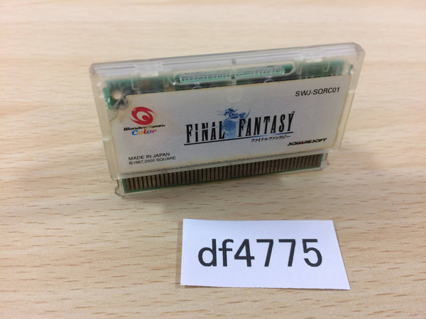 df4775 Final Fantasy Wonder Swan Bandai Japan