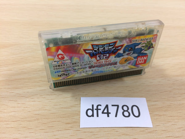 df4780 DIGIMON ADVENTURE ZERO TWO D1 TAMER Wonder Swan Bandai Japan