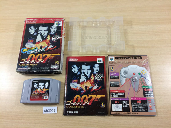 ub3094 Golden Eye 007 BOXED N64 Nintendo 64 Japan
