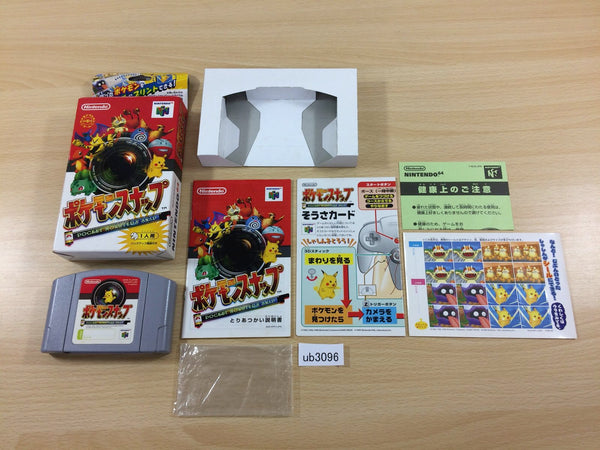 ub3096 Pokemon Snap BOXED N64 Nintendo 64 Japan
