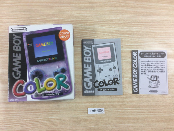 kc6606 GameBoy Color Console Box Only Console Japan