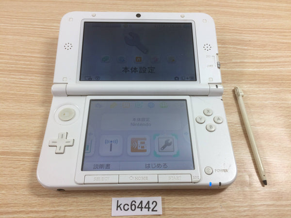 kc6442 No Battery Nintendo 3DS LL XL 3DS Pink White Console Japan