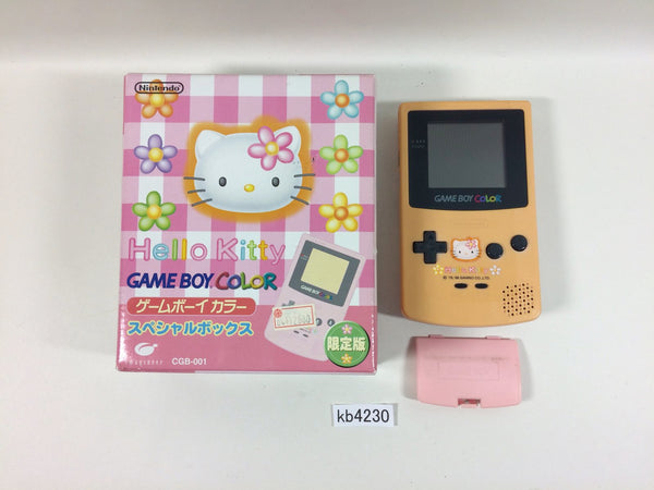 kb4230 GameBoy Color Hellow Kitty Ver. BOXED Game Boy Console Japan