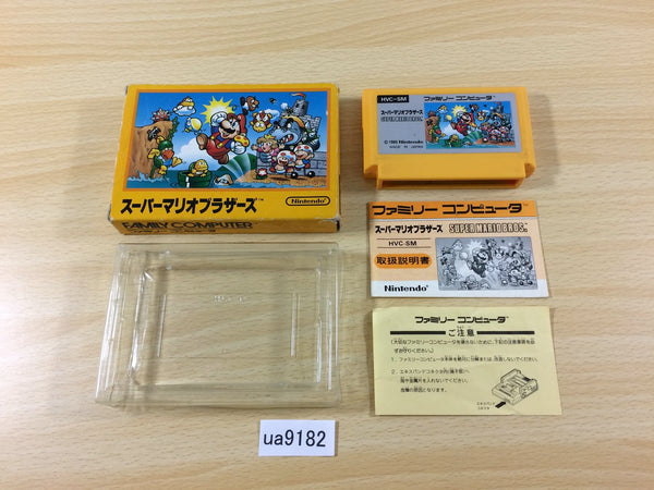 ua9182 Super Mario Bros. BOXED NES Famicom Japan