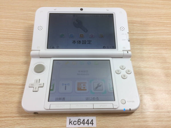 kc6444 Plz Read Item Condi Nintendo 3DS LL XL 3DS White Console Japan