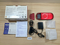 ga3587 PSP-3000 RADIANT RED BOXED SONY PSP Console Japan