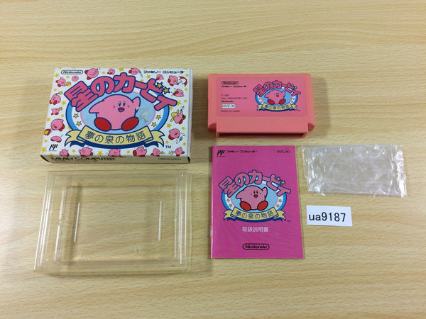 ua9187 Kirby Kirby's Adventure BOXED NES Famicom Japan