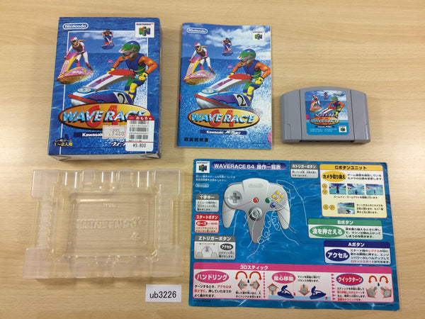 ub3226 Wave Race BOXED N64 Nintendo 64 Japan