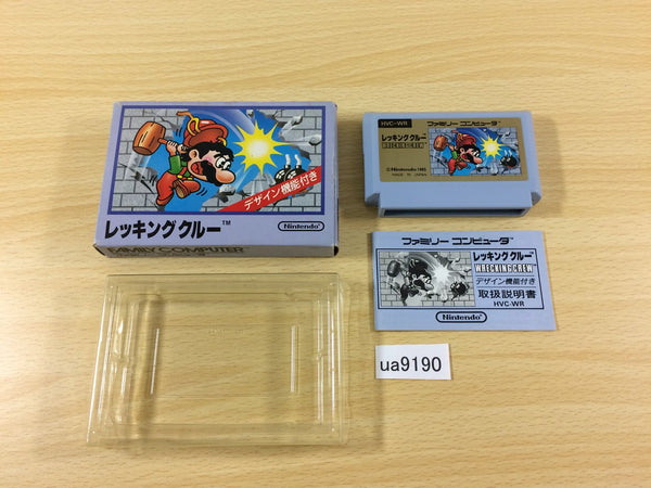 ua9190 Wrecking Crew BOXED NES Famicom Japan