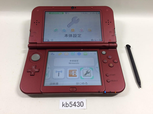 kb5430 Nintendo NEW 3DS LL XL MONSTER HUNTER Ver Console Japan