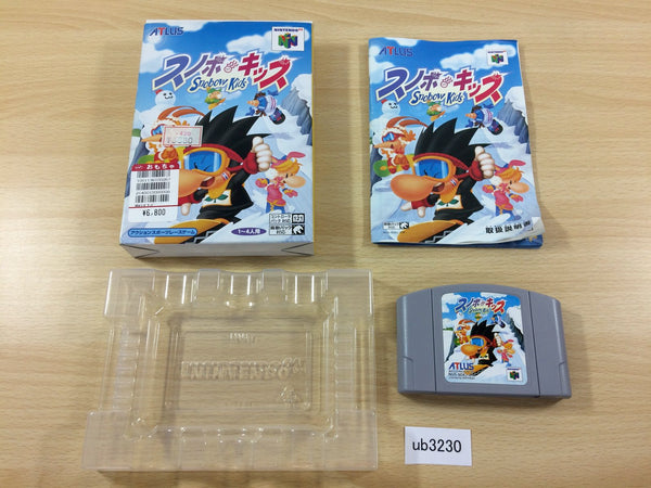 ub3230 Snowboard Kids BOXED N64 Nintendo 64 Japan