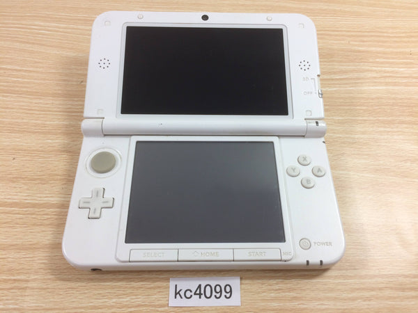 kc4099 Not Working Nintendo 3DS LL XL 3DS White Console Japan