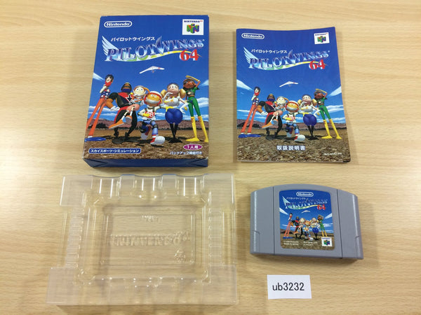 ub3232 Pilotwings BOXED N64 Nintendo 64 Japan
