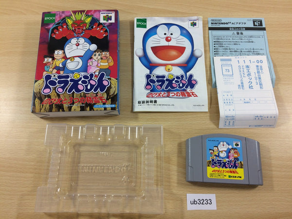 ub3233 Doraemon Nobita to Mittsu no Seireiseki BOXED N64 Nintendo 64 Japan