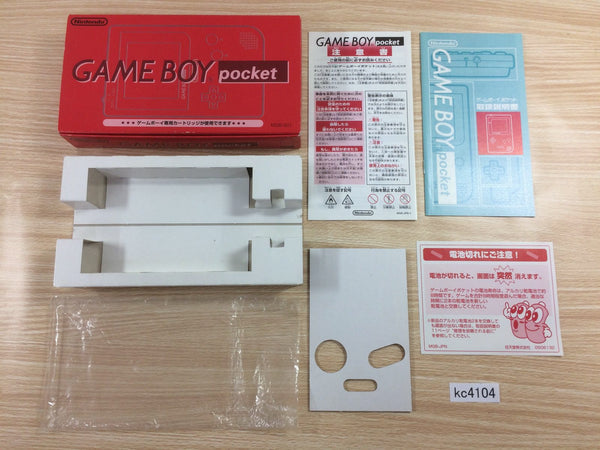 kc4104 GameBoy Pocket Console Box Only Console Japan