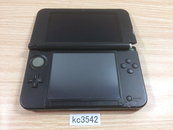 kc3542 Plz Read Item Condi Nintendo 3DS LL XL 3DS Red Black Console Japan