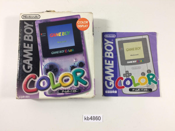 kb4860 GameBoy Color Console Box Only Console Japan