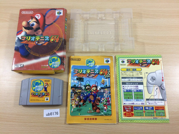 ub6176 Mario Tennis 64 BOXED N64 Nintendo 64 Japan