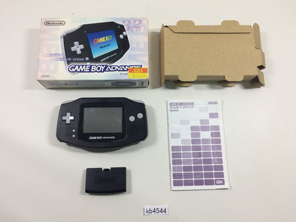 kb4544 GameBoy Advance Black BOXED Game Boy Console Japan