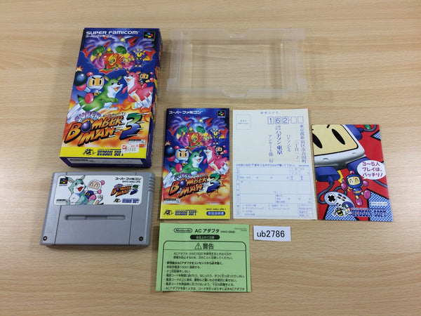 ub2663 Tetsuwan Atom Mighty Atom BOXED SNES Super Famicom Japan