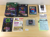 ua4121 The Legend of Zelda Majora's Mask BOXED N64 Nintendo 64 Japan