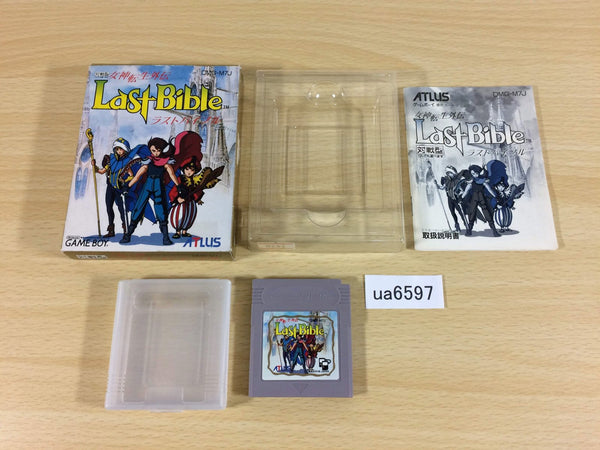 ua6597 Megami Tensei Gaiden Last Bible 1 BOXED GameBoy Game Boy Japan