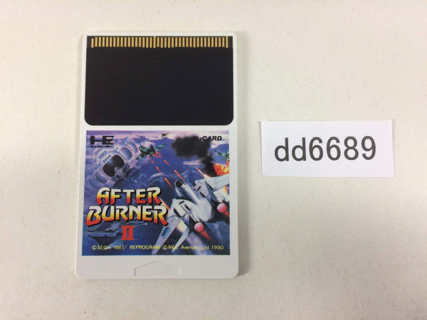 dd6689 After Burner 2 PC Engine Japan