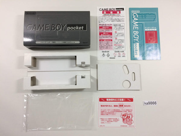 ka9866 GameBoy Pocket Console Box Only Console Japan